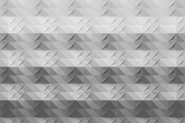 Padrão cinza branco com dobras em estilo origami