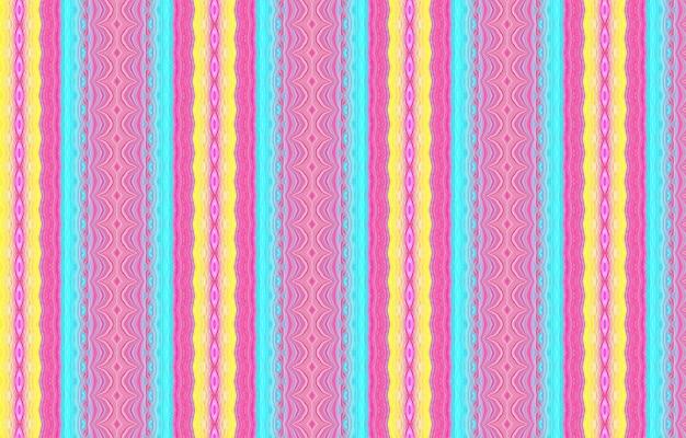 Padrão colorido para ladrilhos têxteis e fundos padrão geométrico colorido tribal padrão ikat