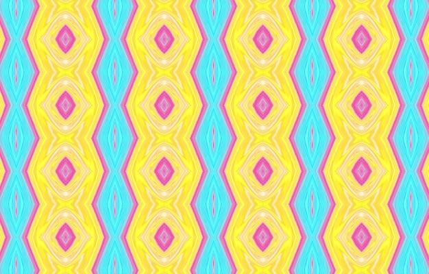 Padrão colorido para têxteis e design design de padrão étnico geométrico para plano de fundo ou papel de parede