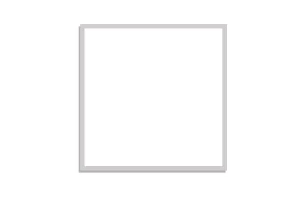 Padrão com quadrado branco em fundo branco