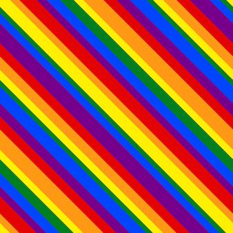 Padrão de arco-íris linha listrada geométrica para design