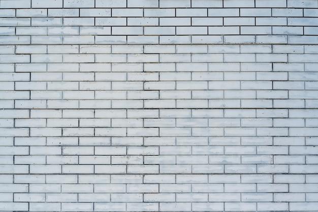 Padrão de arranjo de parede de tijolo branco