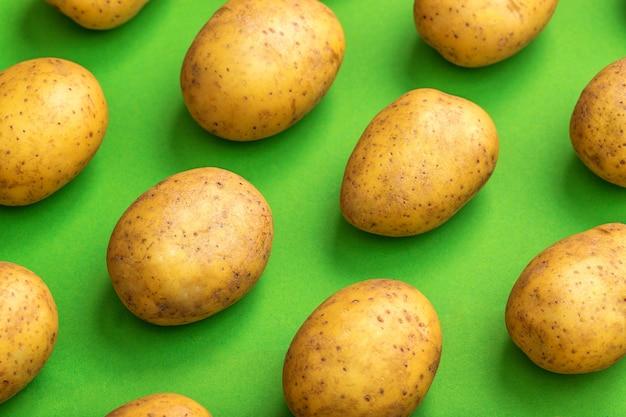 Padrão de batata. batata natural