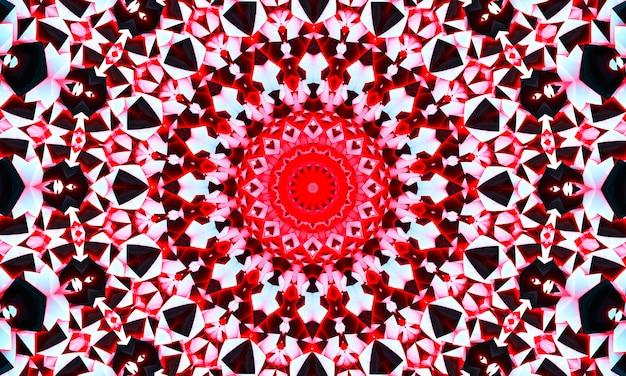 Padrão de caleidoscópio sem costura criativa abstrata com triângulos de pincelada. fundo colorido para imprimir brochura, cartaz, cartão, impressão, têxteis, revistas, roupas esportivas. design moderno e moderno.