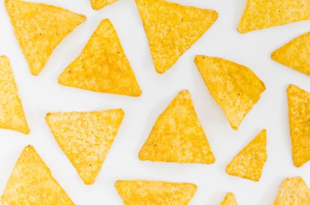 Padrão de chips nacho