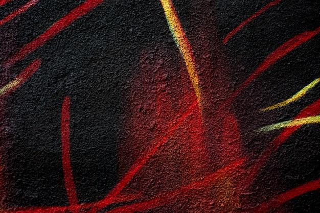 Padrão de cor abstrata no asfalto.