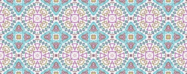 Padrão de design de tecido multicolorido