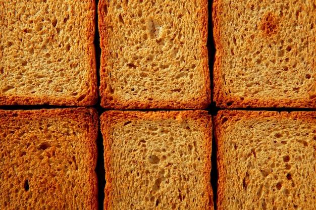 Padrão de fatias de pão torrado