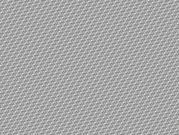 Padrão de fibra de carbono branco