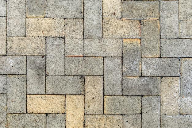 Padrão de formas de tijolo