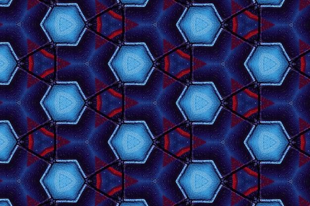 Padrão de fundo abstrato azul