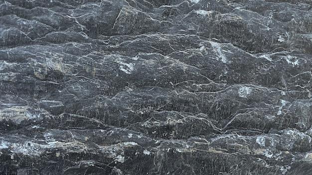Padrão de fundo abstrato de textura de pedra em preto e branco