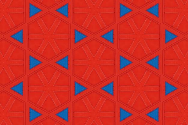 Padrão de fundo abstrato vermelho
