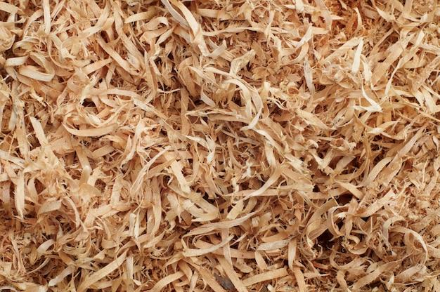 Padrão de fundo de aparas de madeira
