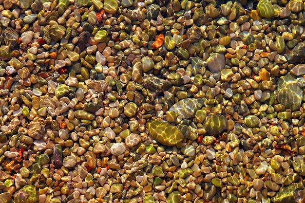 Padrão de fundo do mar colorido rolling stones