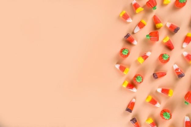 Padrão de layout de doces de milho doce