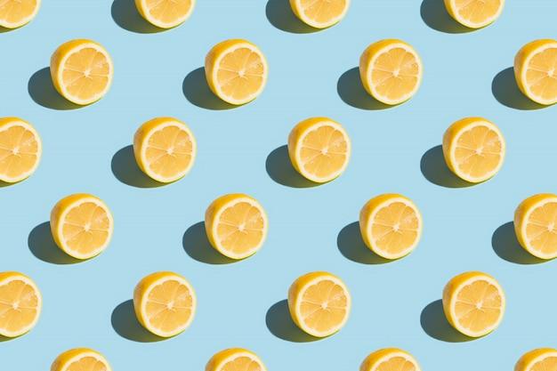 Padrão de limão fatiado