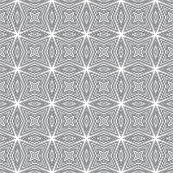 Padrão de listras texturizadas. fundo preto caleidoscópio simétrico. design moderno de listras texturizadas. estampado notável pronto para têxteis, tecido de biquíni, papel de parede, embrulho.