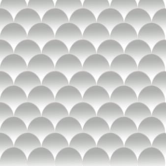 Padrão de meio círculo cinza abstrata