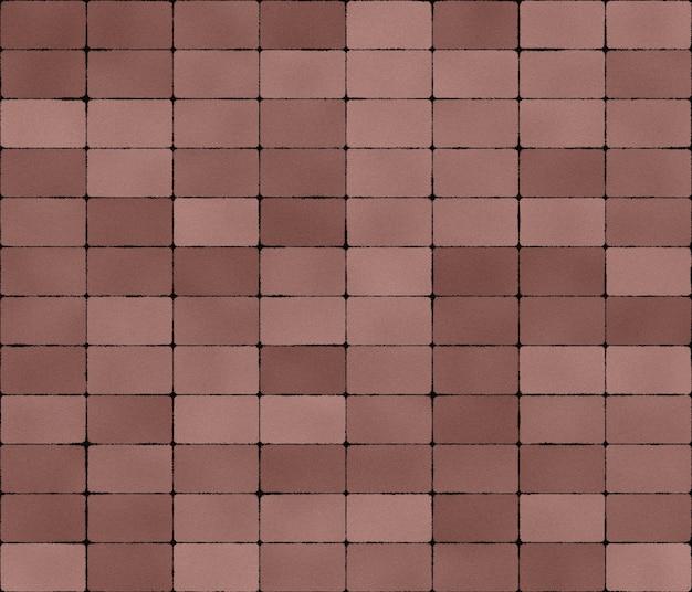 Padrão de mosaico bege de azulejos