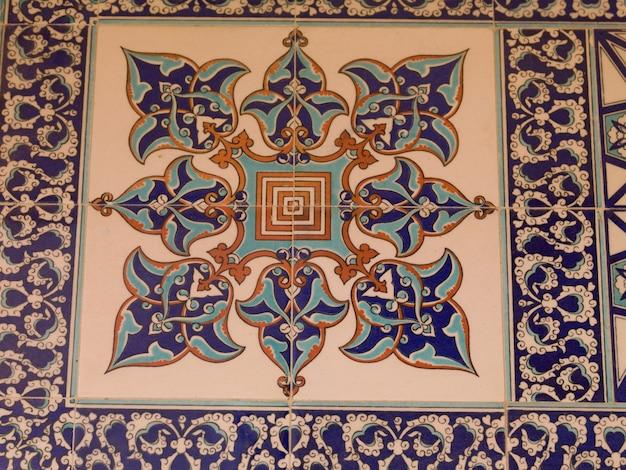 Padrão de piso turco