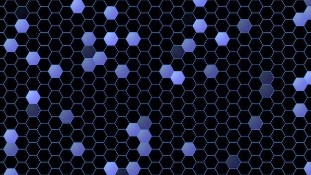Padrão de quadrados azuis, fundo abstrato. estilo geométrico dinâmico elegante e luxuoso para negócios, ilustração 3d