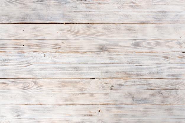 Padrão de superfície de textura de placas de madeira pintadas de branco