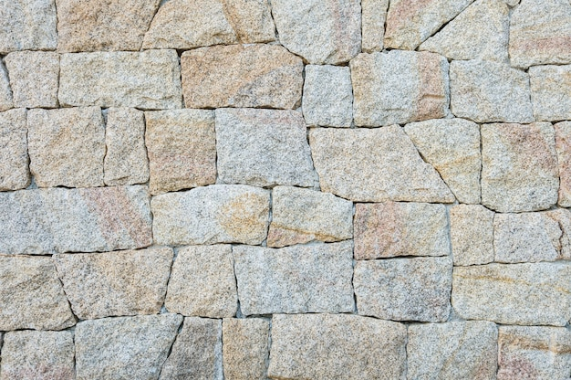 Padrão de superfície tijolo closeup no antigo fundo de parede de tijolo de pedra texturizado