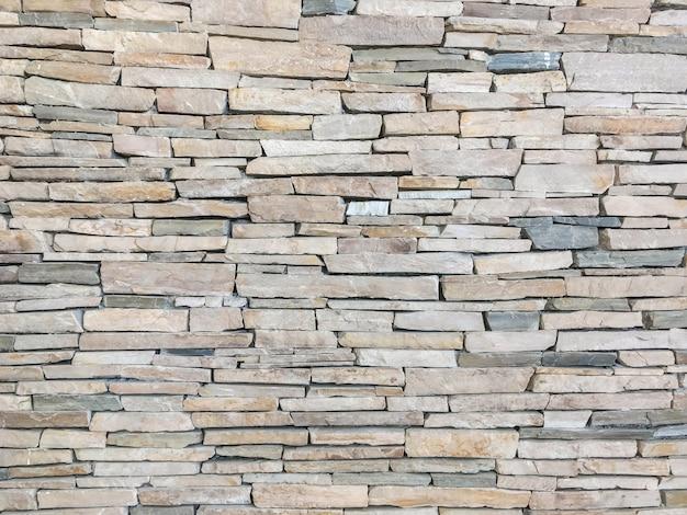 Padrão de superfície tijolo closeup no antigo fundo de textura de parede de tijolo de pedra