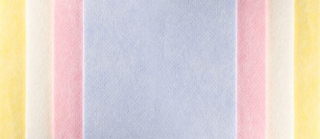 Padrão de tecido amarelo ou textura