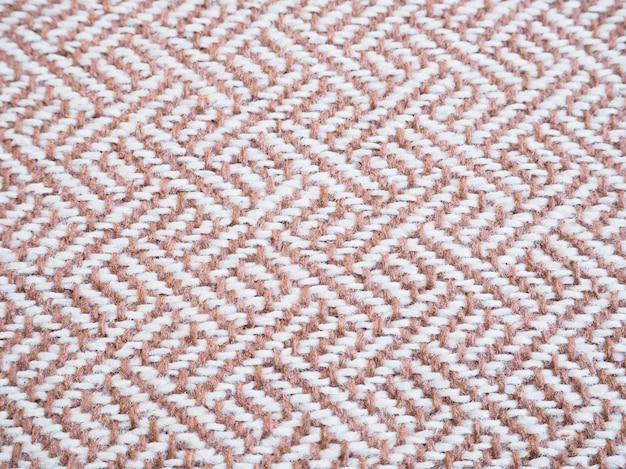 Padrão de tecido bege tweed