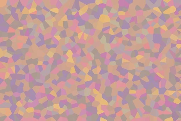 Padrão de textura abstrata de mosaico pastel, papel de parede de fundo desfocado suave