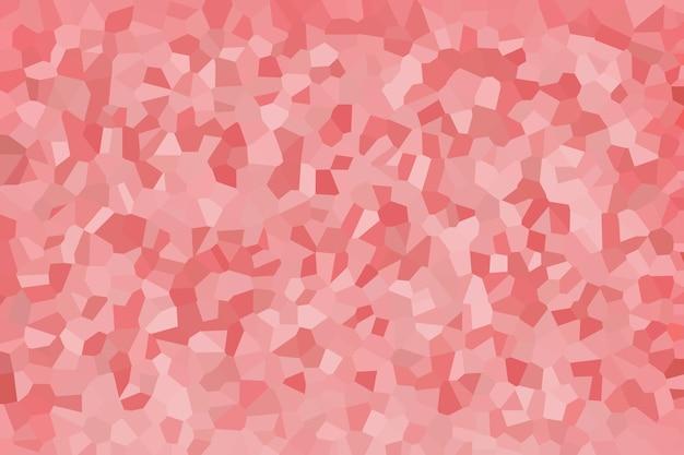 Padrão de textura abstrata de mosaico rosa, papel de parede de fundo desfocado suave