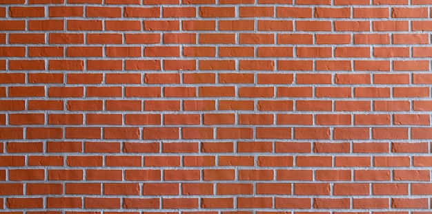 Padrão de textura de parede de tijolo vermelho