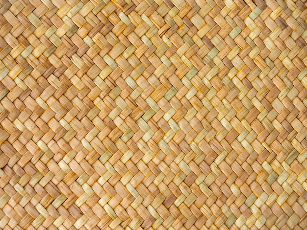 Padrão de textura de superfície de vime tradicional