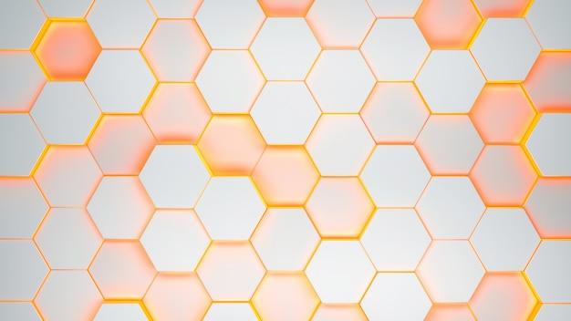 Padrão de textura hexagonal
