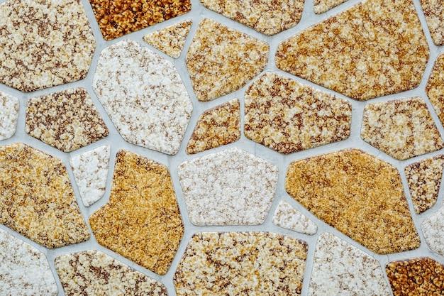 Padrão de tijolo closeup