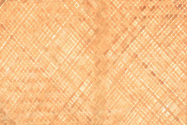 Padrão de trama de bambu, textura de madeira de bambu para o fundo