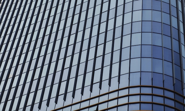 Padrão de vidro de janela abstrata