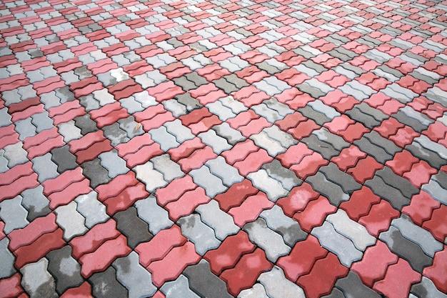 Padrão e textura do tijolo