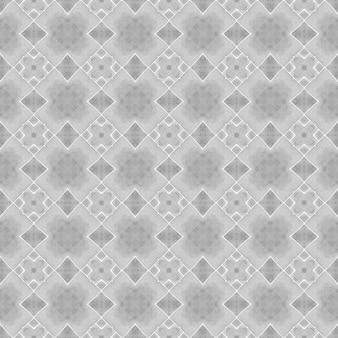 Padrão étnico pintado à mão. projeto chique do verão do boho clássico preto e branco. padrão de fronteira étnica de verão em aquarela. estampado excelente pronto para têxteis, tecido para biquínis, papel de parede, embrulho.