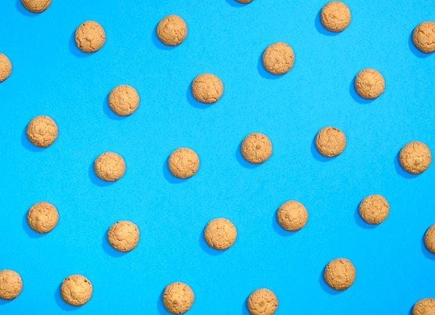 Padrão feito de biscoitos doces