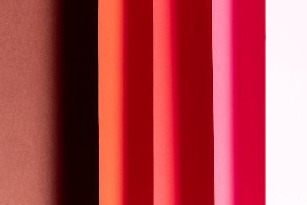 Padrão feito de diferentes tons de vermelho close-up