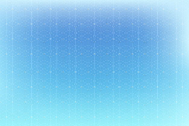 Padrão geométrico com linha e pontos conectados.