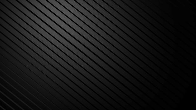 Padrão geométrico de linhas pretas, fundo abstrato. estilo geométrico dinâmico elegante e luxuoso para negócios, ilustração 3d