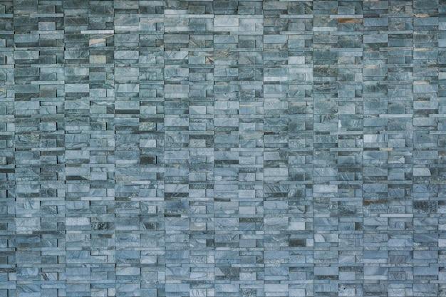 Padrão moderno de superfícies decorativas de parede de pedra