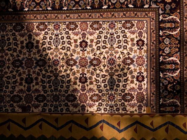 Padrão no tapete turco