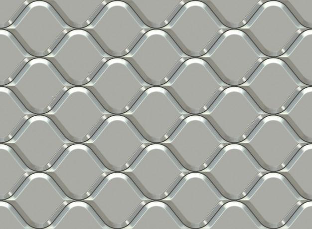 Padrão ornamental de prata. padrão sem emenda árabe.