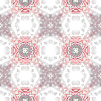 Padrão sem emenda branco cinzento vermelho. textura elegante. tecido geométrico. design escandinavo.