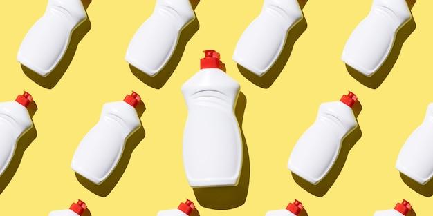 Padrão sem emenda de detergente líquido